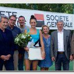 Vainqueur, maire de Neuilly et adjoint, sponsors, finaliste, président du comité, président du club, vice-présidente du club