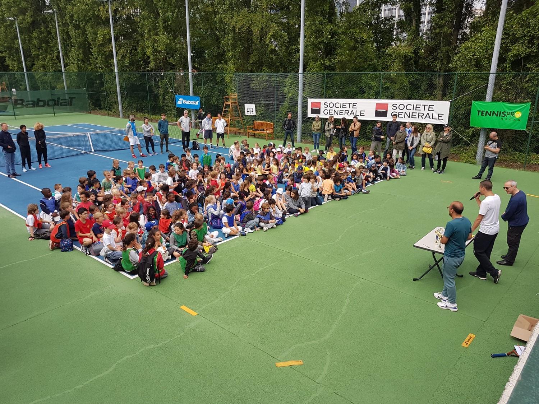 Rentrée école de tennis le 9 septembre