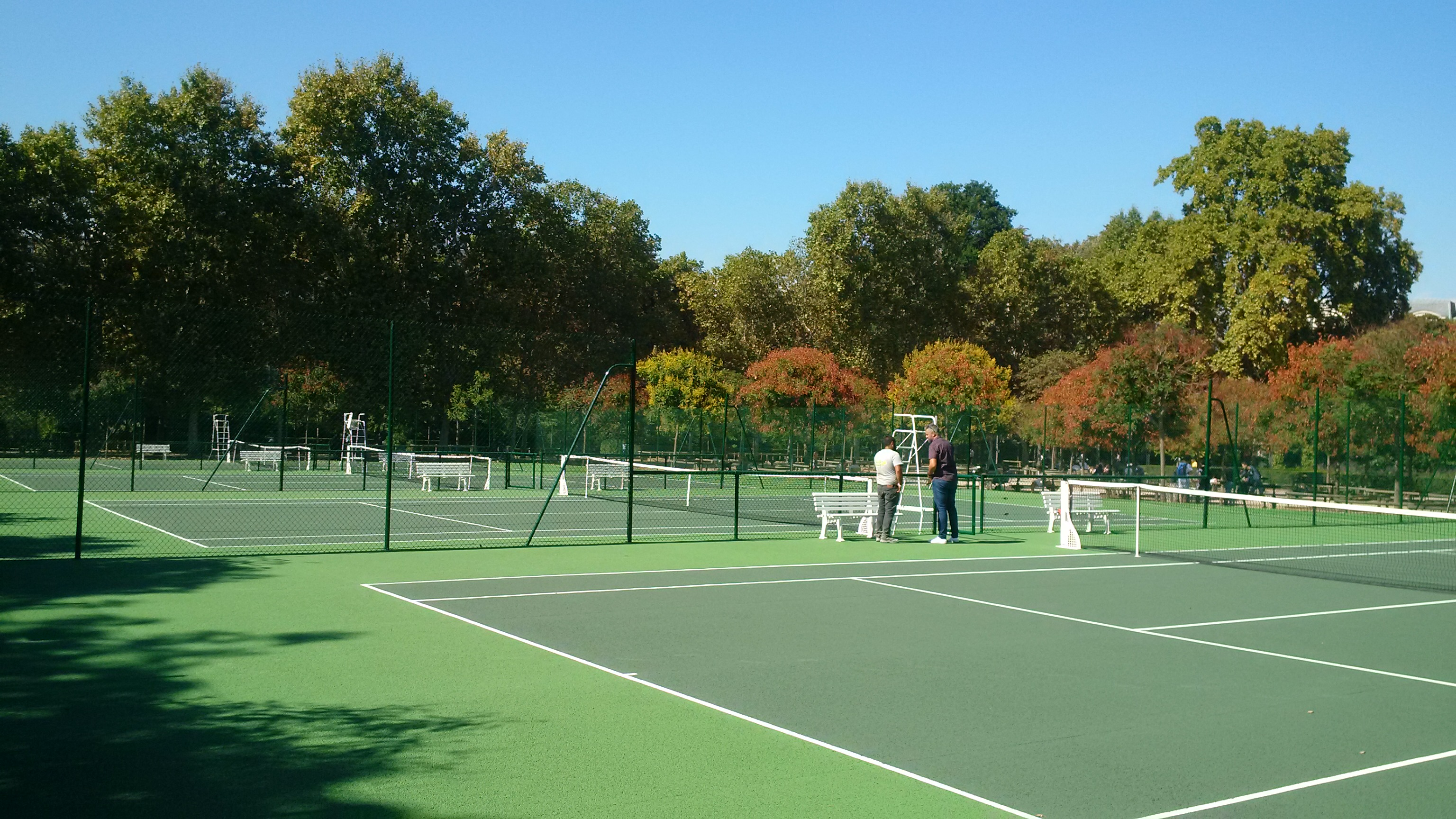 Tennis du Jardin du Luxembourg