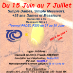 Affiche Tournoi Open 2019