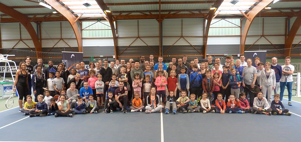 Tennis en famille