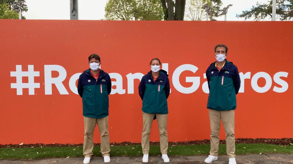 Nos arbitres seine et marnais à Roland Garros